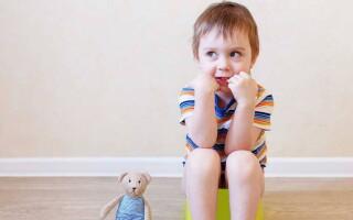Запоры у детей 4-5 лет