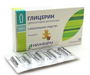 Упаковка глицериновых свечей