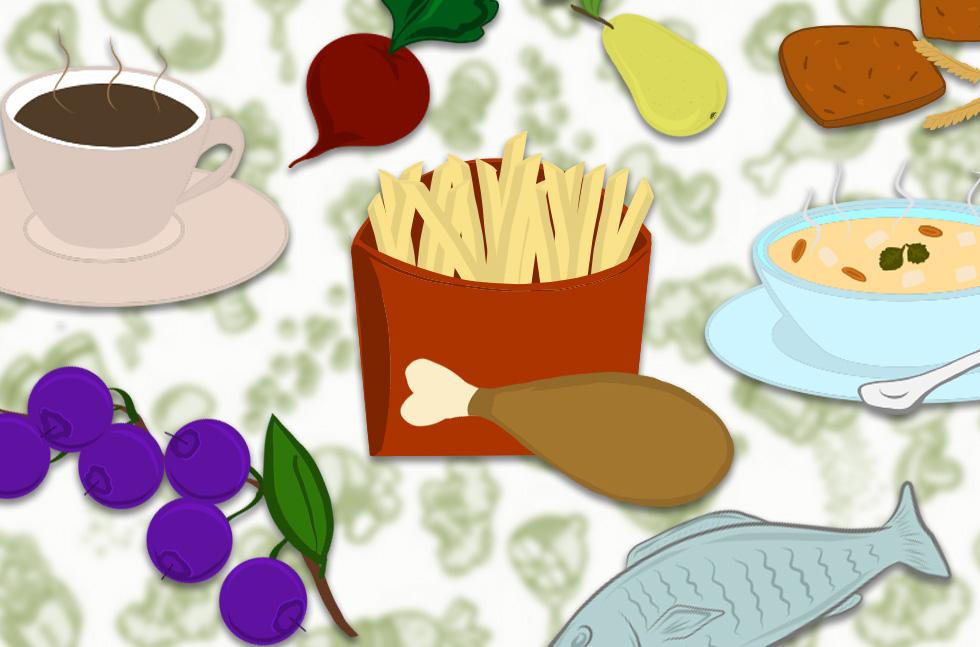 Что можно и что нельзя есть при запоре