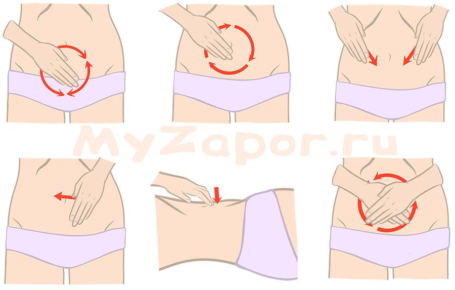 Как делать абдоминальный массаж (массаж живота)